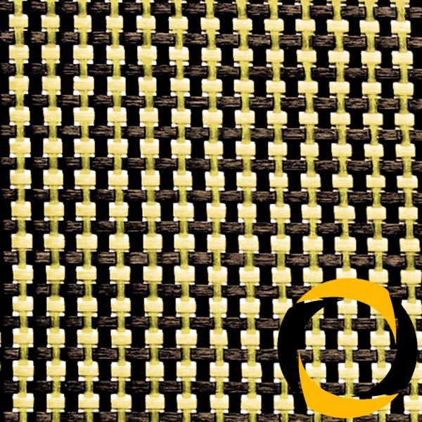 Kohle-/Aramidgewebe 68 g/m² (LW) 100 cm